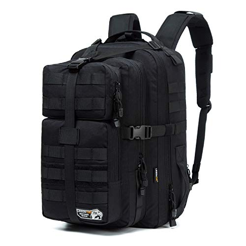 LeisonTac Military Tactical Backpack Large Army 3 Day Assault Pack Great for Hunting