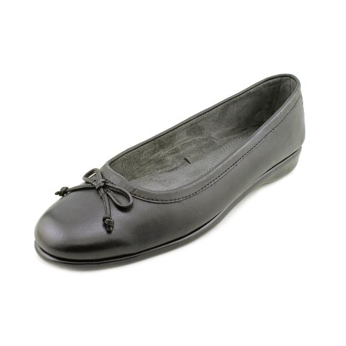 Aerosoles Women's Teashop Ballet Flat,Black Soft,8 M US