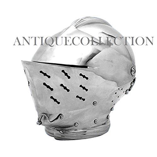 Tudor Close Helmet Official Replica Armour Metallic One Size