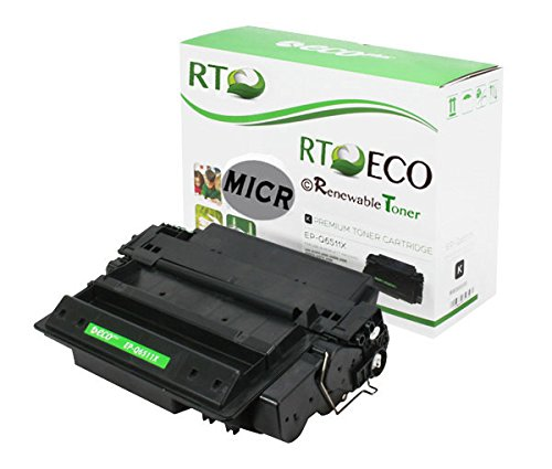 Renewable Toner 11X Q6511X Compatible MICR Toner Cartridge for check printing with HP LaserJet 42420 2420d 2420dn 2430 2430n 2430t 2430tn 2430dtn Printers