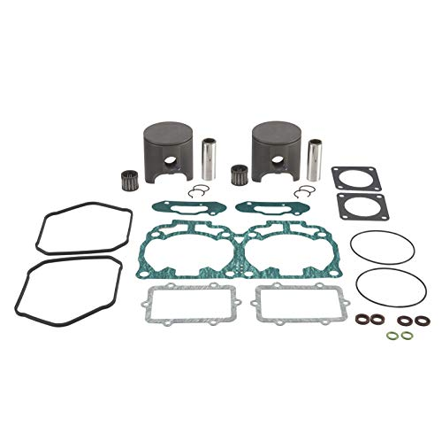 2017 Ski Doo Snowmobile - Stellar Snowmobile Racing Top End kit with gaskets & racing piston/rings - Compatible with Ski-Doo 600 H.O. E-TEC 2009-2018