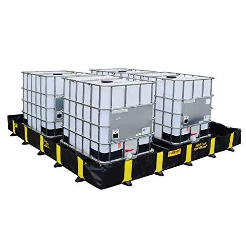 Disset Odiseo FG00234 Einwegeimer aus PVC, faltbar, tragbar, Normal, 4069 l, Kapazität: 3700 mm x 3700 mm x 305 mm