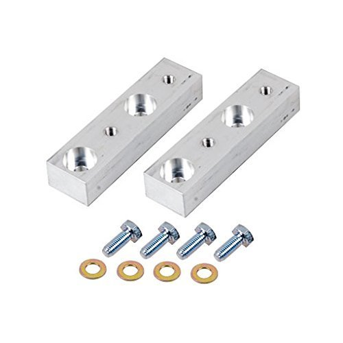 - Synergy Manufacturing 8086-02 Jeep JK Rear Sway Bar Drop Bracket Kit, Billet Alum. 1.0'' drop