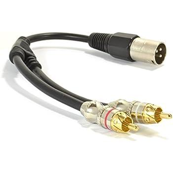 Prime Amazon Com Siyear Unbalanced Xlr Y Splitter Patch Cable 1 Xlr Male Wiring Digital Resources Jebrpkbiperorg