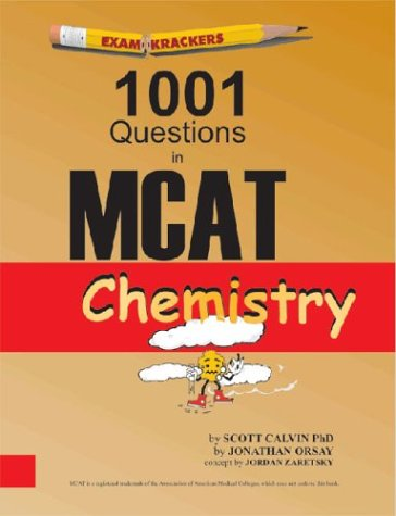 Examkrackers 1001 Questions in MCAT Chemistry thumbnail
