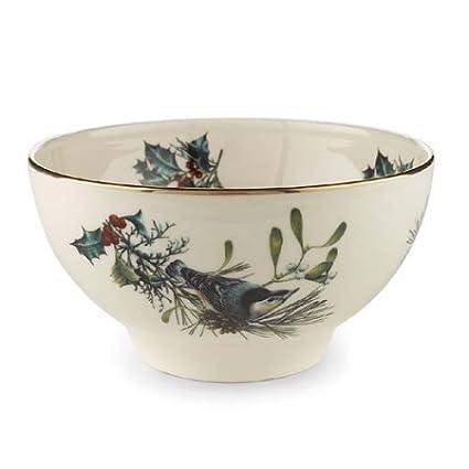 Amazon lenox winter greetings rice bowl rice bowls lenox winter greetings rice bowl m4hsunfo