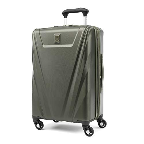Wheel Expandable 4 Luggage (Travelpro Maxlite 5 Expandable Carry-on Spinner Hardside Luggage, Slate Green)