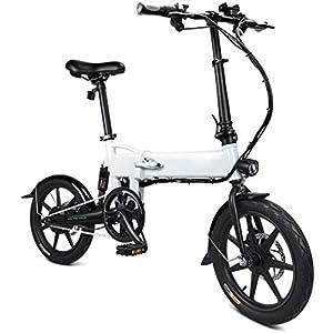 41A11NeQMHL. SS300 Drohneks Ebike, Bici elettrica Pieghevole per Bici elettrica per Adulti 250 W Motore Elettrico Bici con Luce Anteriore a…
