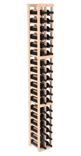 Wine Racks America Ponderosa Pine 2 Column Wine Cellar Kit. Unstained