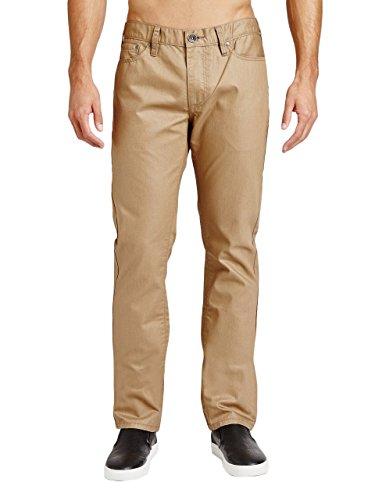 G by GUESS Men's Korbin Coated Slim Jeans