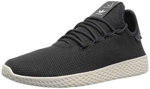 adidas Originals Men's PW Tennis hu Sneaker, Carbon/Carbon/chalk White, 11.5 Medium (Adidas Tennis Sneakers)