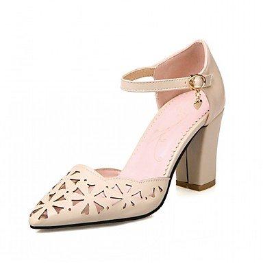 pwne Las Mujeres Sandalias De Verano Caen Club Zapatos Zapatos Formales Comfort Novedad Oficina Exterior De Piel Sintética Pu &Amp; Carrera Parte &Amp; Casual Vestido De Noche US6.5 / EU38 / UK5 Big Kids