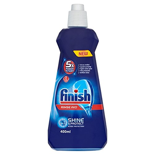 2 PACK - Finish Rinse Aid Shine & Dry Regular (400 Millilitre) (0.85 US Pint)