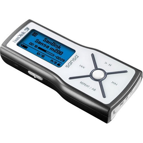 SanDisk Sansa m250 2 GB MP3 Player (Black)