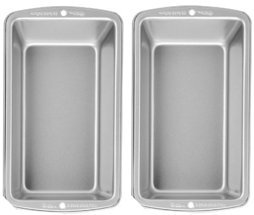 Wilton Recipe Right Large Loaf Pan, Pack of 2 Pans