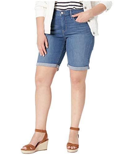 Levi's Women's Plus-Size Shaping Bermuda Shorts, Windsurfer, 40 (US 20) (Levis Bermuda Shorts)