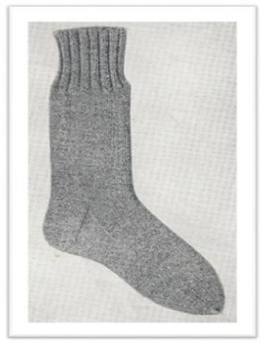 0010 Ww1 Sock Vintage Knitting Pattern Single Patterns Kindle