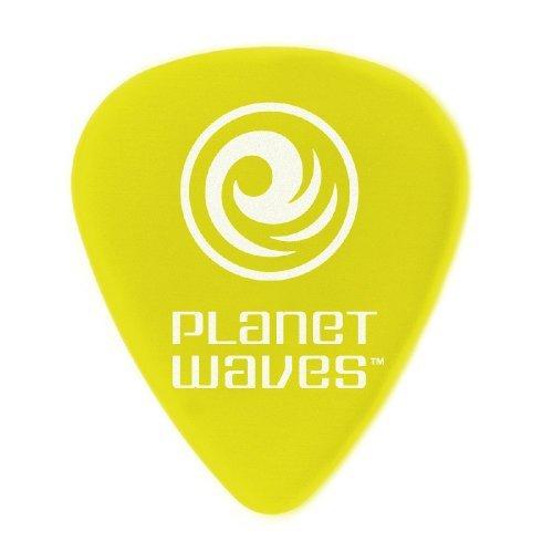 【 並行輸入品 】 Planet Waves (プラネットウェイヴス) Delrin #351 スタンダード ギターピック27mm-Yellow, bag of 100 B00JEF79A6