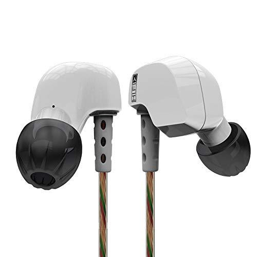 Creazy KZ HD9 Earphone HiFi Sport Earbuds Copper Earhook Ear Type In Ear (White)
