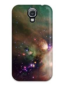 Best Galaxy S4 Hard Back With Bumper Silicone Gel Tpu Case Cover Nebula