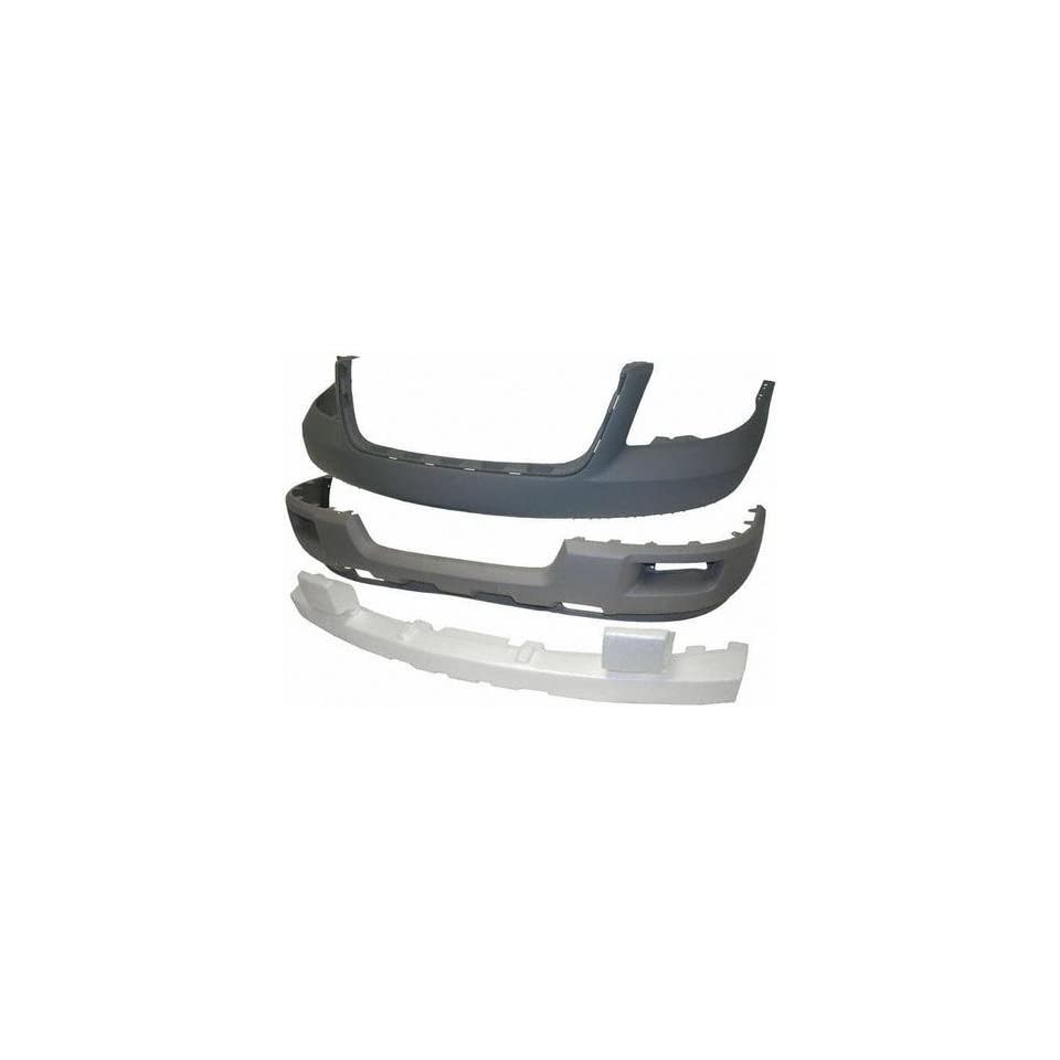 03 FORD EXPEDITION FRONT BUMPER COVER SUV, Titanium, XLT Model, w/ Absorber (2003 03) F010331 2L1Z17D957LAA