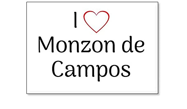Mundus Souvenirs - Amo Monzon de Campos, Imán para Nevera (diseño ...