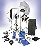 Lowel DV Creator 55 Kit, Analog & Digital Video Lighting Location Kit, with TO-83 Case