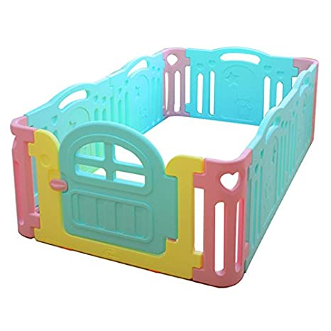 Amazon Com Ifam Fence Baby Room Marshmallow 6 Pieces Mint Baby