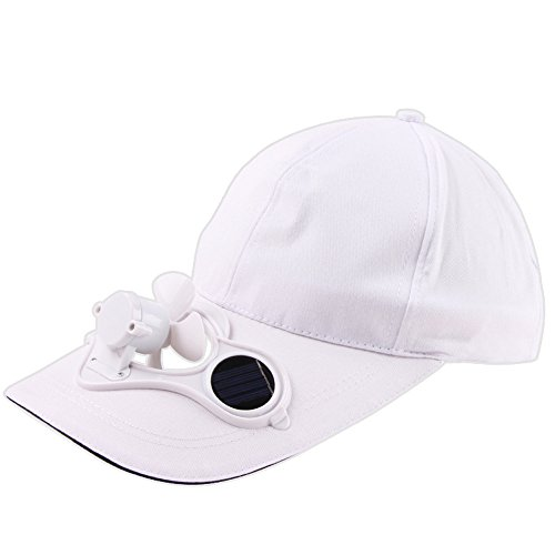 Fan Air Cap - GOVOW-Tech Golf Hat Camping Hiking Peaked Cap with Solar Powered Fan Baseball Hat Cooling Fan Cap