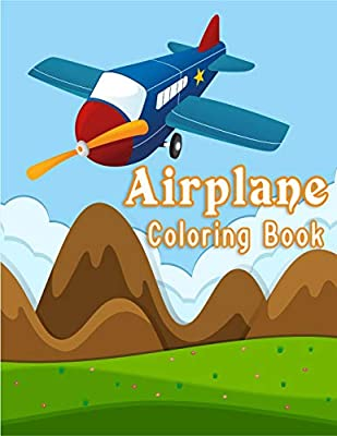 Buy Airplane Coloring Book Plane Activity Coloring Book For Kids