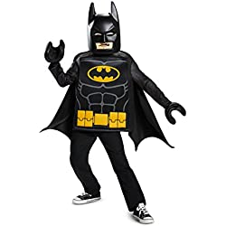Disguise Batman Lego Movie Classic Costume, Black, Small (4-6)