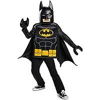 Disguise Batman Lego Movie Classic Costume, Black, Medium (7-8)