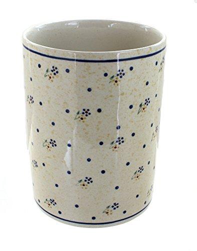 - Polish Pottery Country Meadow Utensil Jar