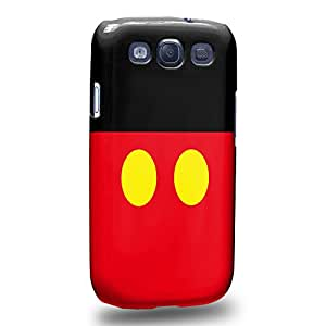 Case88 Premium Designs Art Couple Phone Case Series Mickey Carcasa/Funda dura para el Samsung Galaxy S3