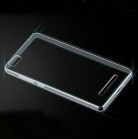 Prevoa ® 丨 Silicona TPU Funda Case for XIAOMI Mi 4i Mi4C 5.0 Pulgadas Android Smartphone - Transparent
