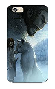 CLfqOak6849zVlya Case Cover Arya Stark And Nymeria Compatible With Iphone 6 Protective Case