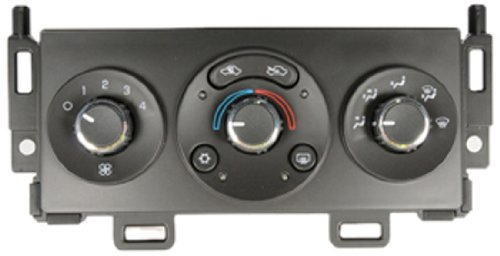 malibu 2005 ac control panel - 2