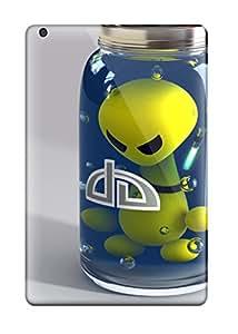 Slim Fit Tpu Protector Shock Absorbent Bumper Alien I Cases For Ipad Mini