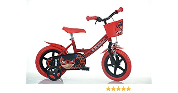 Dino 124RL-LB Miraculous - Bicicleta (12