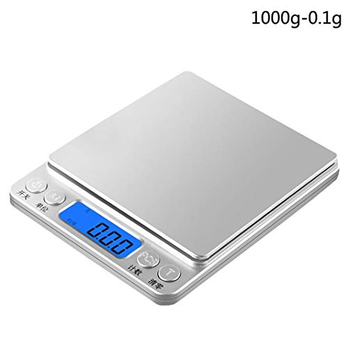 Digital Scale,LtrottedJ Precision Digital Scales ,for Gold Jewelry Weight Electronic Scale (B) by LtrottedJ