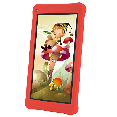 AOSON M753-S1 7 Inch kids Tablet PC, Android 7.1 Nougat Quad-core Processor, IPS HD Touch Screen, 1GB RAM 16GB Storage, Kids APPS Iwawa Kidoz Dual Camera Bluetooth Wi-Fi Supported, GMS Certificated by Aoson (Image #5)