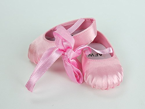 Pink Ballerina Slippers -Fits 18