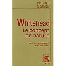 Alfred North Whitehead: Le Concept de Nature