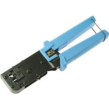 platinum tools ez rj45 crimp tool for rj 11 rj 12 and rj 45 crimpers. Black Bedroom Furniture Sets. Home Design Ideas