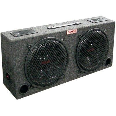 Xxx kic120 (2) Dual 12 Car Audio Subwoofer Sub Box W/ 5 Tweeters (12 2 Sub)