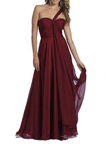 Traeger Festlichkleider Charmant Burgundy Abendkleider Ein Abschlussballkleider Damen Elegant 4HH06xtq