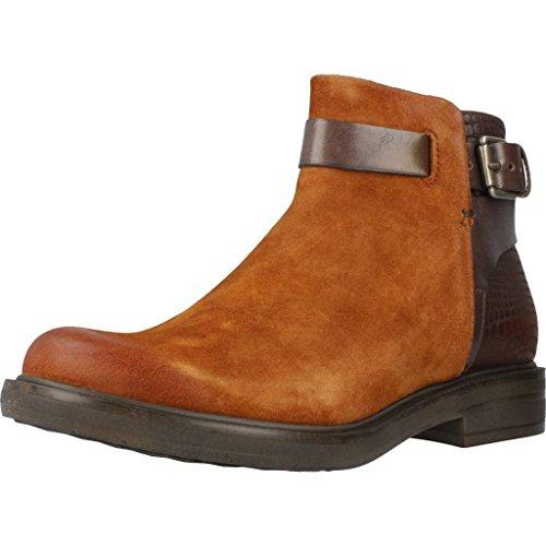 Mjus Zapatos bajos de nobuk en marrón - marrón, 41