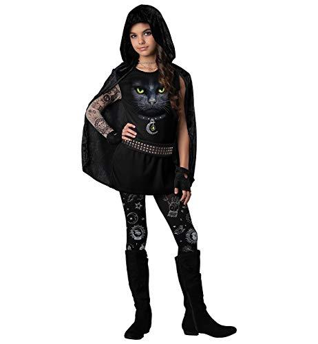 InCharacter Girls Junior Covens Rebel Costume, Small Black]()