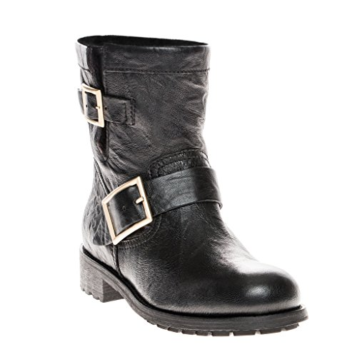 Jimmy-Choo-Youth-Biker-Leather-Biker-Boots