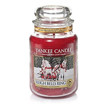 Yankee Candle Winter Wonderland(C) Collection (Sleigh Bells Ring(C)) Large Jar Candle (Bell Jar Collection)